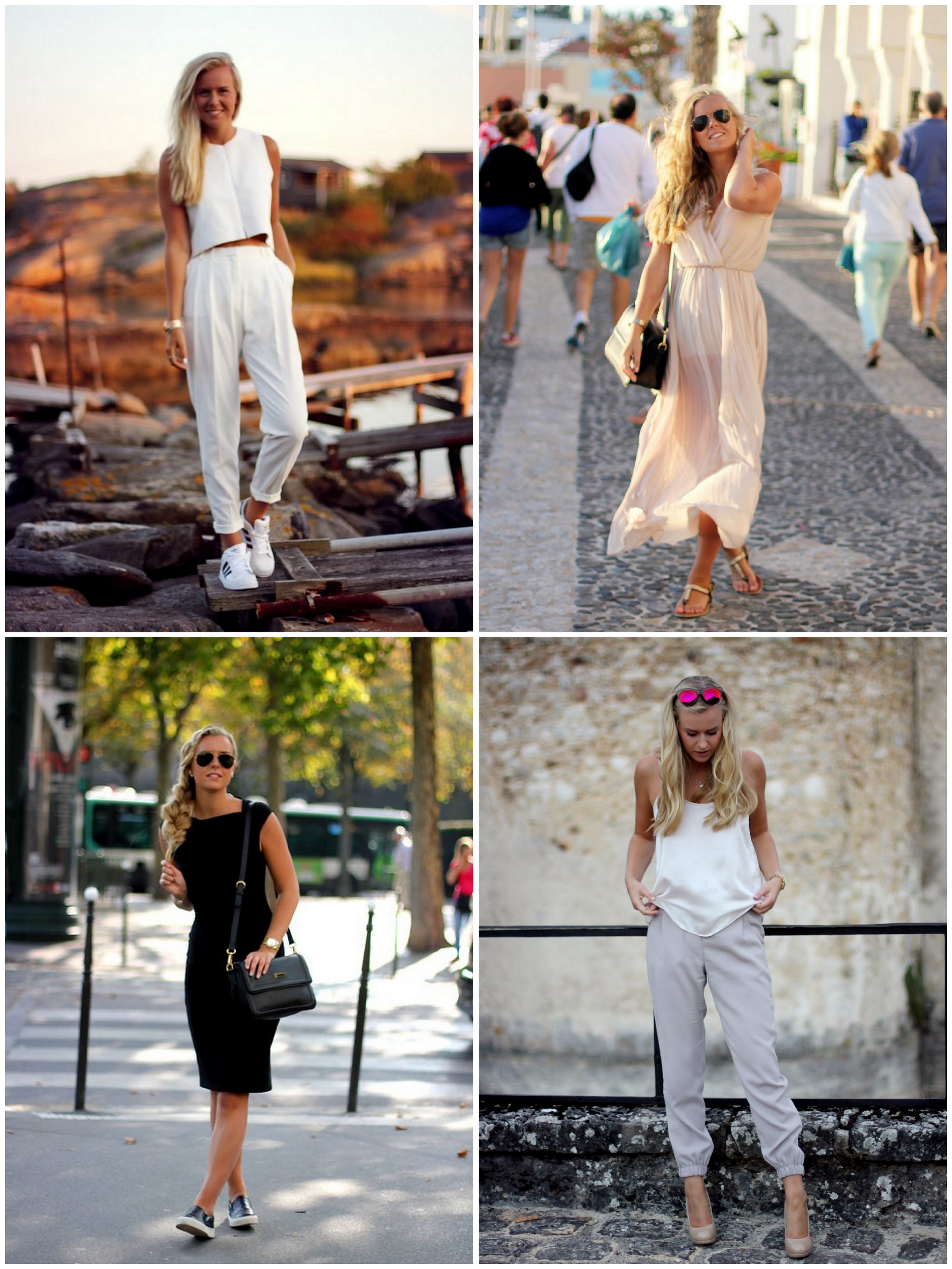 OUTFITS FROM LAST SUMMER